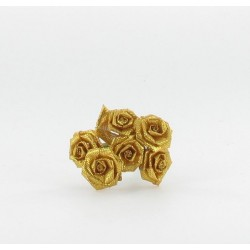 6 mini roses or