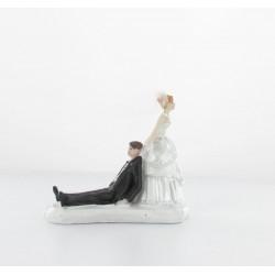 """Figurine le marié """"ne pars pas"""""""
