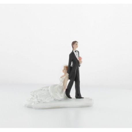 """Figurine la mariée """"ne pars pas"""""""