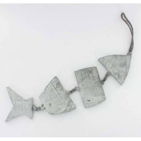 Poisson squelette 8x26cm