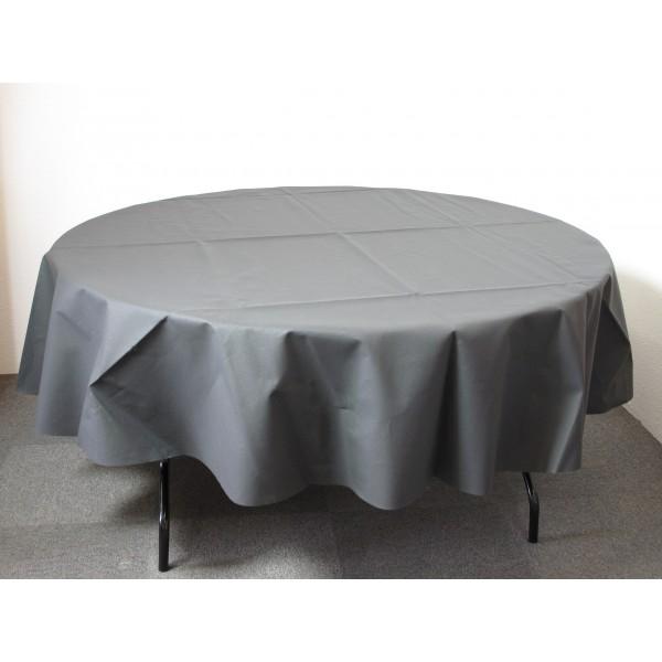 nappe ronde intiss 240cm id f tes. Black Bedroom Furniture Sets. Home Design Ideas