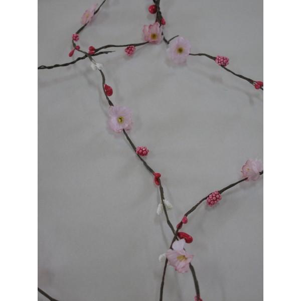 Guirlande de papier fleurs id f tes - Guirlande fleurs papier ...