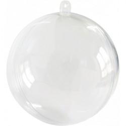 Boule transparente 80mm