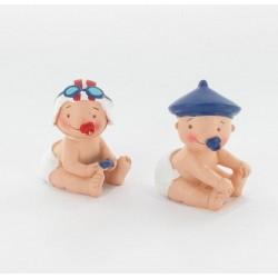 Bébé garçon bonnet bleu 5cm