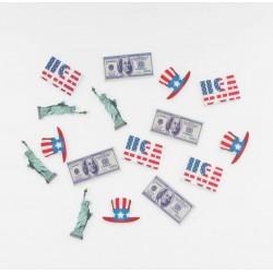 Confettis table USA (x16)