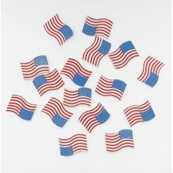 Confettis table drapeau USA (x16)
