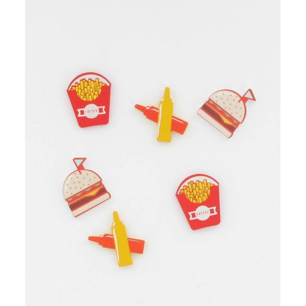 Mariage Decoration Table Enfant Fast Food