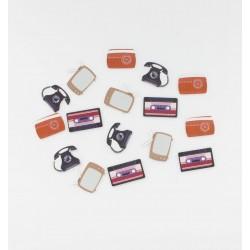 Confettis table vintage (x16)