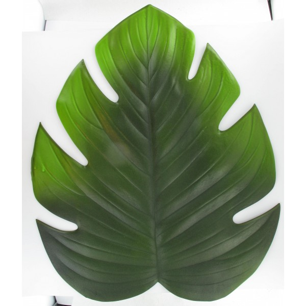 Feuille philodendron 45cm id f tes for Set de table feuille