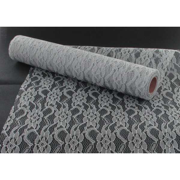 chemin de table dentelle 30cmx5m id f tes. Black Bedroom Furniture Sets. Home Design Ideas