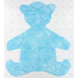 10 sets ourson turquoise
