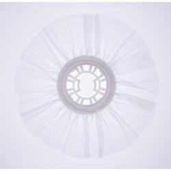 Collerette bouquet blanche 25cm