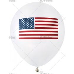 Ballons Amérique (x8)