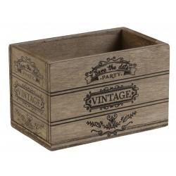 Cagette vintage naturel