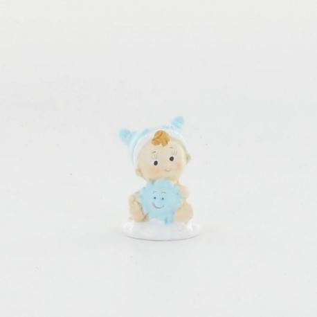bébé bleu 3,5cm