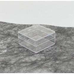 Boite plexi 6x6x3cm