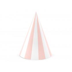 Chapeaux pointus rayures (x6)