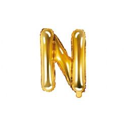 ballon N gold 35cm