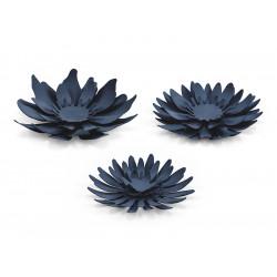 Fleurs bleu à monter x3