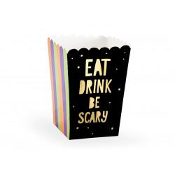 6 boites à pop corn scary