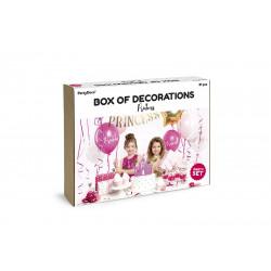 Set de décorations Princesse