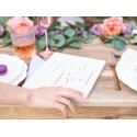 Guest book rose gold 22pages