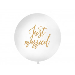 Ballon géant Just married