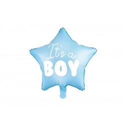 Ballon it's a boy etoile 45cm