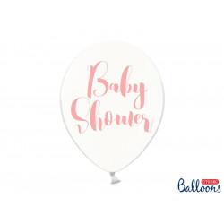 Ballon baby shower rose