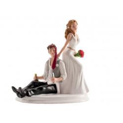 Figurine mariage drunk