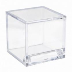 Boite cube transparent 4,5x4,5