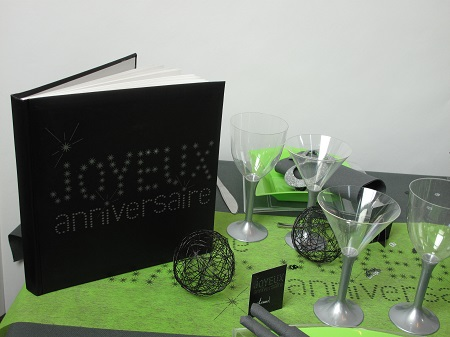idées deco table d'anniversaire 40 ans