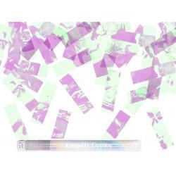 Canon confettis irisés 60cm