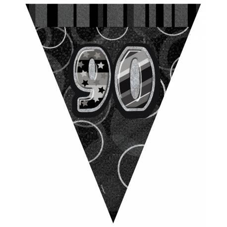 Guirlande fanions 90 ans