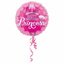 Ballon birthday princesse