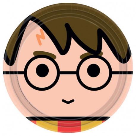 Assiettes Harry Potter 23cm (x8)
