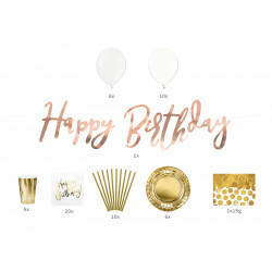 Kit Happy Birthday set