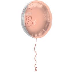 Ballon 18 ans blush 45cm
