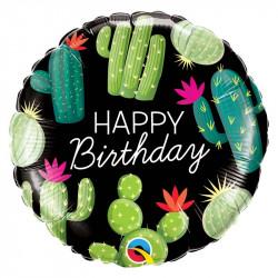 Ballon birthday cactus