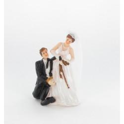 """Couple mariés """"homme menotté"""""""