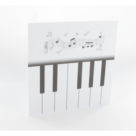 Cartes musique (x5)