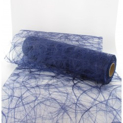 Chemin de table sizoweb 30cmx25m bleu jeans