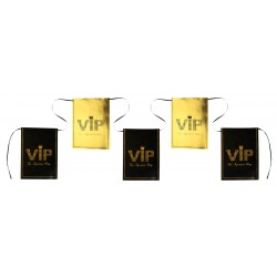Banderolle VIP or 6m