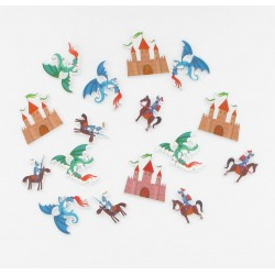 Confettis table chevalier (x16)