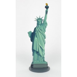 Centre table USA statue 30x9,5cm