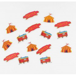 Confettis table Circus (x15)