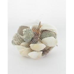 Coquillages assortis en filet 400Grs