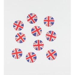 Confettis drapeau Grande Bretagne (x150)