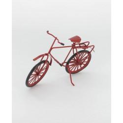 Vélo rouge 14x10cm