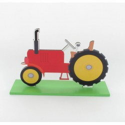 Centre table tracteur 12x18cm